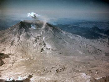 Mount St. Helens, Summer 1980